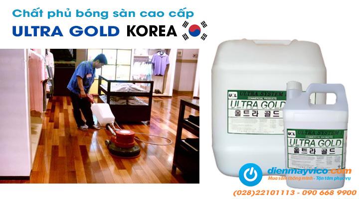 Hóa chất đánh bóng sàn ULTRA GOLD