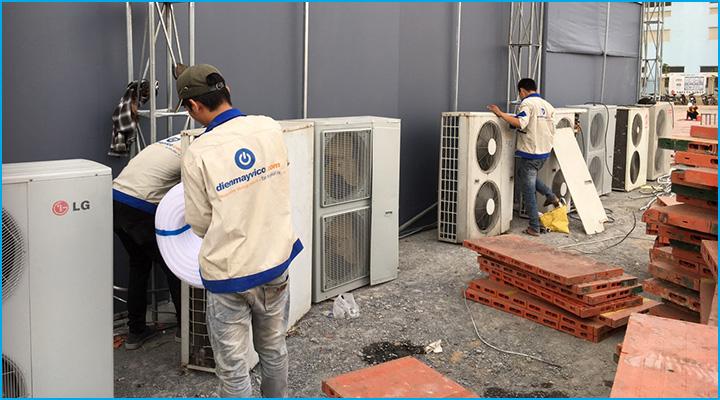 Lắp đặt máy lạnh chuyên nghiệp đảm bảo