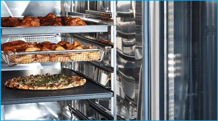 Lò Combi có khả năng chế biến đa dạng các món ăn khác nhau
