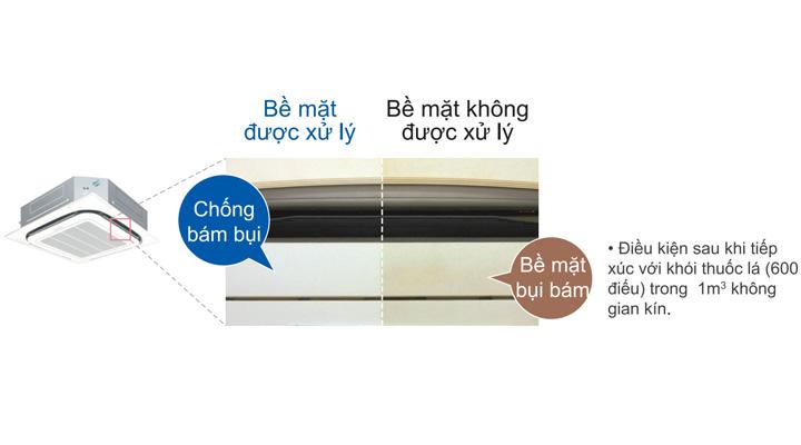 Lớp phủ chống bụi và vi khuẩn giúp vệ sinh máy dễ dàng