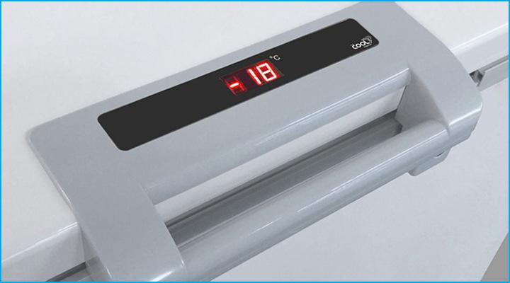 Màn hình hiển thị nhiệt độ dễ theo dõi