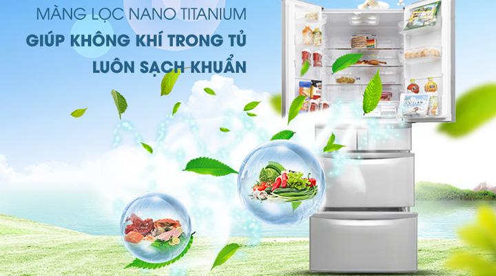 Màng lọc Nano Titanium kháng khuẩn khử mùi hiệu quả