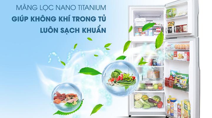 Màng lọc khử mùi kháng khuẩn Nano Titanium
