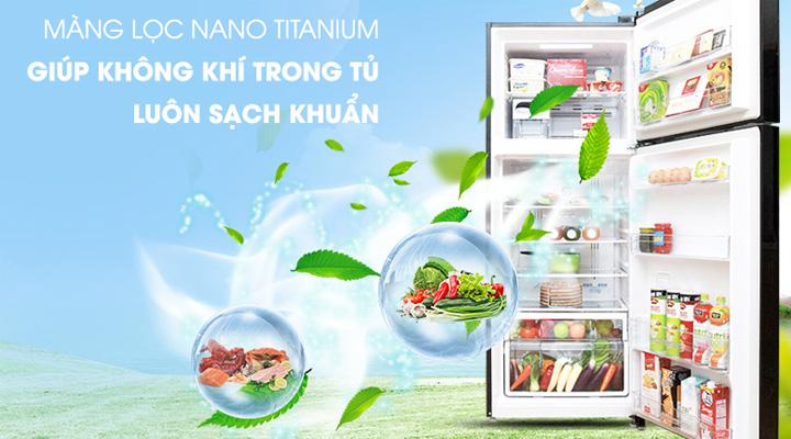 Màng lọc Nano Titanium lọc sạch vi khuẩn và khử mùi hôi mạnh mẽ