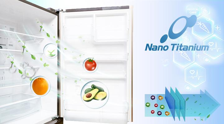 Màng lọc Nano Titanium tiêu diệt vi khuẩn và khử mùi hôi