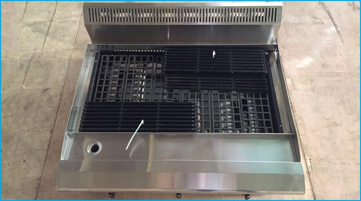 Mẫu bếp nướng than đá nhân tạo Berjaya CRB3B-17