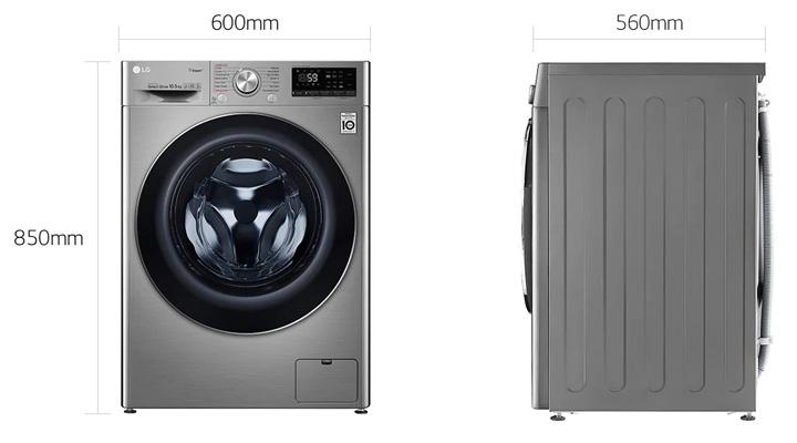 Mẫu máy giặt LG FV1450S3V 10.5kg