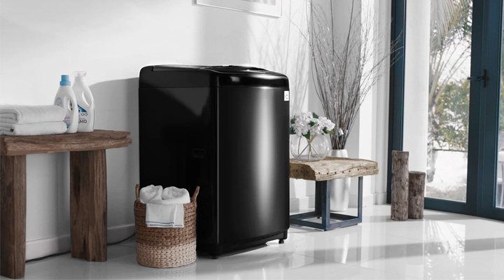 Máy giặt LG Inverter TH2722SSAK có thiết kế sang trọng, hiện đại