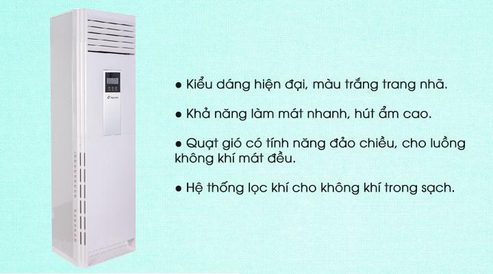 Mẫu máy lạnh tủ đứng Nagakawa NP-C50DL (5.0 Hp)