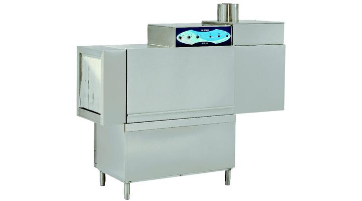 Mẫu máy rửa chén băng chuyền Inoksan INO-BYK220L/R-K70