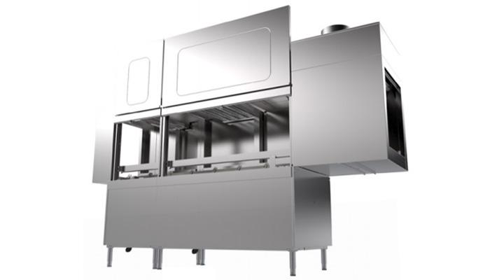 Mẫu máy rửa chén băng chuyền Inoksan INO-BYK270L/R-K70