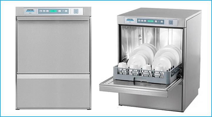 Mẫu máy rửa ly chén quầy bar Winterhalter U50
