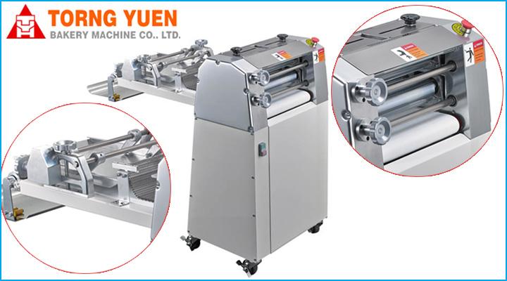 Máy se bột mỏ dài Torng Yuen 420L