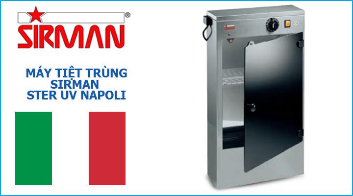 Mẫu máy tiệt trùng Sirman Ster UV Napoli
