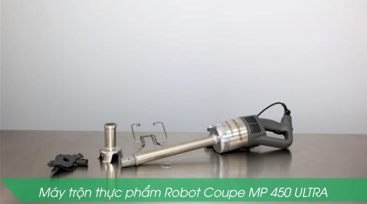 Máy trộn thực phẩm Robot Coupe MP 450 ULTRA có thiết kế dạng cầm tay nhỏ gọn và tiện lợi