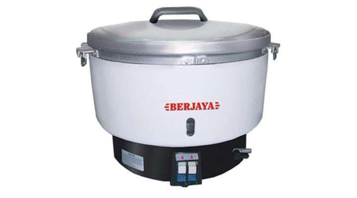 Mẫu nồi cơm công nghiệp Berjaya BJY-GRC60 dùng gas