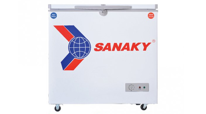 Mẫu tủ đông Sanaky VH-225HY2 175 lít