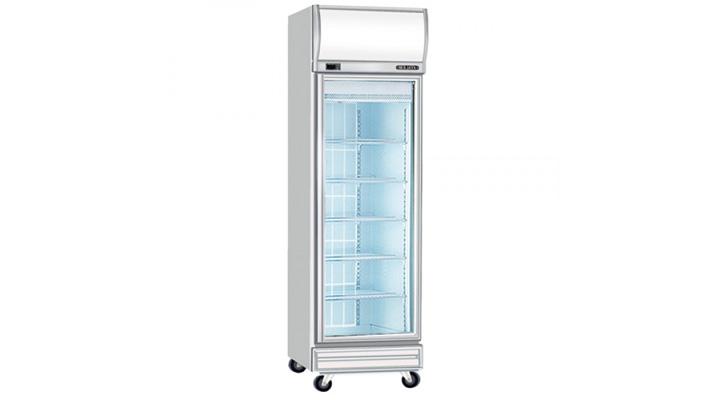 Mẫu tủ đông đứng 1 cánh kính Berjaya 1D/DF-SM-EV