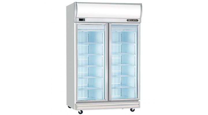 Mẫu tủ đông đứng 2 cánh kính Berjaya 2D/DF-SM-EV
