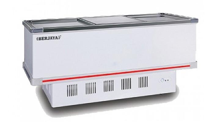 Mẫu tủ đông kính cong Berjaya BJY-IFGD718