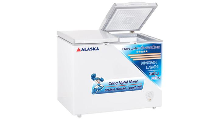 Mâu tủ đông mát Alaska BCD-4568C