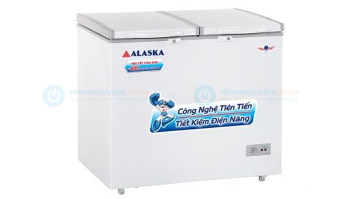 Mẫu tủ đông mát Alaska BCD-5567N