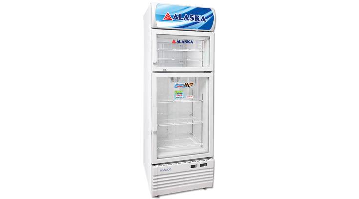 Mẫu tủ  đông mát Alaska LC-833CF