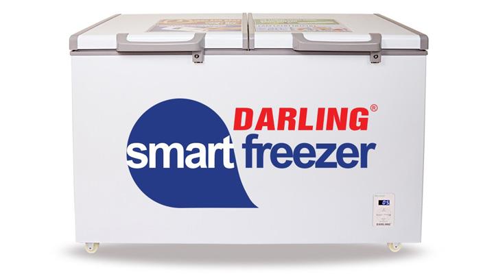 Mẫu tủ đông mát Darling DMF-2699WS