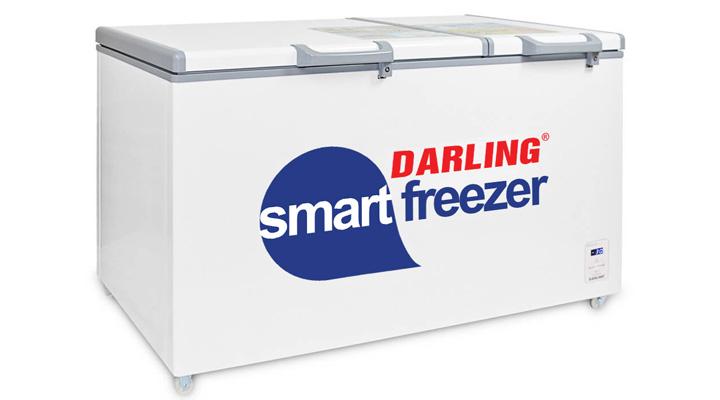 Mẫu tủ đông mát Darling DMF-7699WS-2