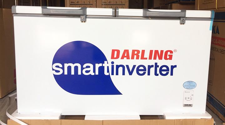 Mẫu tủ đông mát Darling Inverter DMF-4699WSI-4