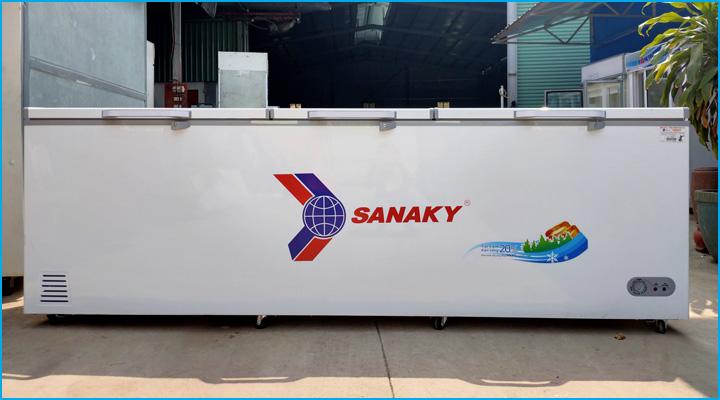 Mẫu tủ đông nắp dở Sanaky VH-1199HY thanh lý