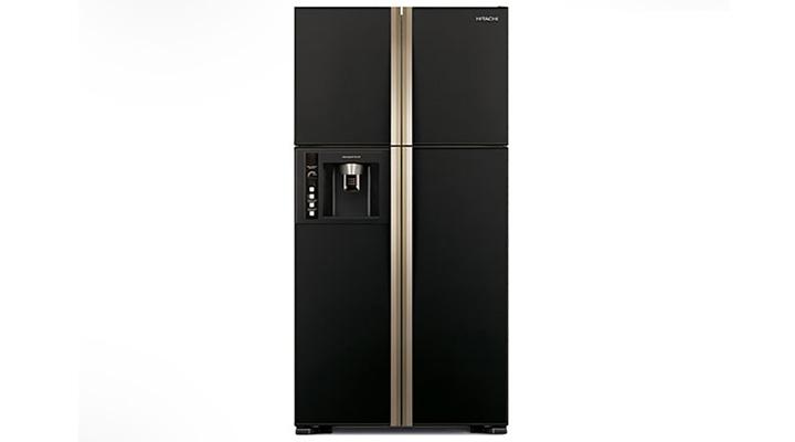 Tủ lạnh Hitachi R-W720FPG1X có thiết kế đơn giản và sang trọng