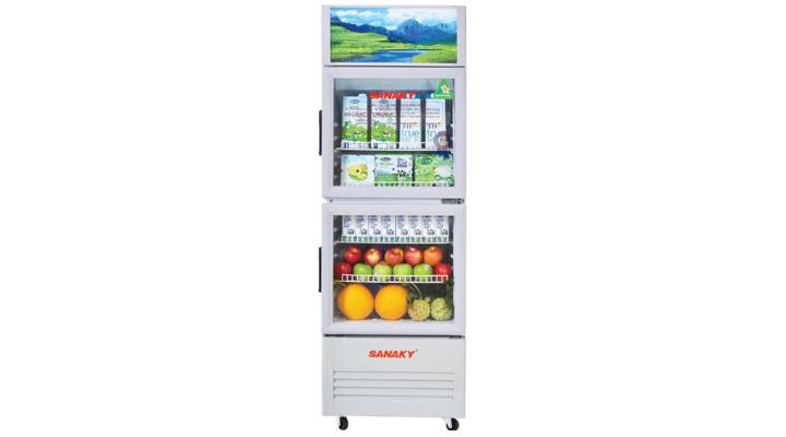 Mẫu tủ mát Sanaky VH-219WL170 lít
