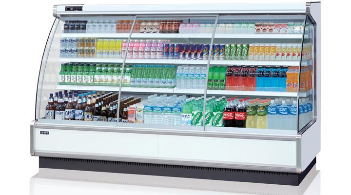 Mẫu tủ mát trưng bày thực phẩm Opo SMDRSD