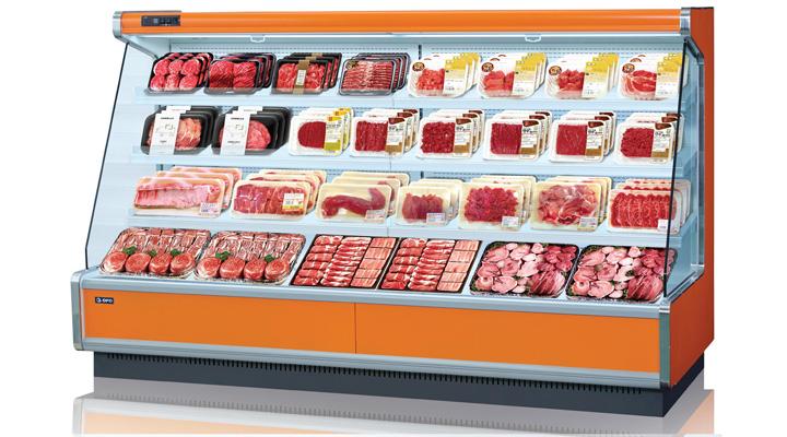 Mẫu tủ mát trưng bày thực phẩm Opo SMMR