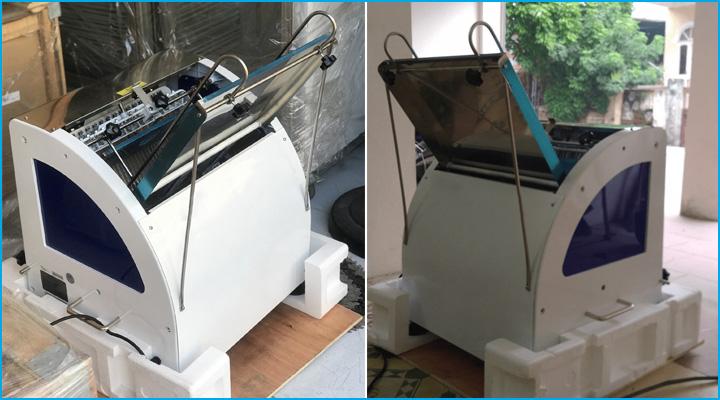 Máy cắt bánh BJY-BS31 có công suất hoạt động ổn định, êm ái và không gây tiếng ồn