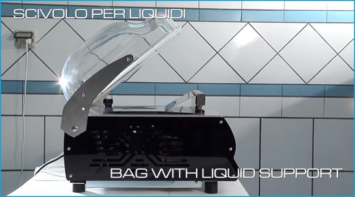 Máy hút chân không Sirman W8 30 Easy DX trang bị thêm dụng cụ hỗ trợ cho thực phẩm là chất lượng