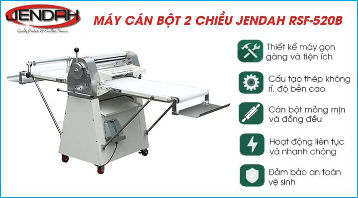 Tổng quan về máy cán bột Jendah RSF-520A