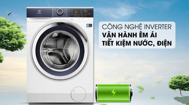 Máy giặt Electrolux EWF9023BDWA trang bị công nghệ EcoInverter tiết kiệm điện năng