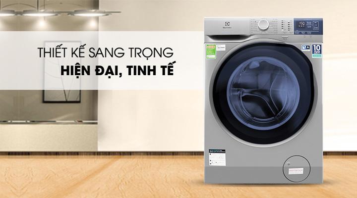 Máy giặt Electrolux EWF9024ADSA có thiết kế sang trọng hiện đại