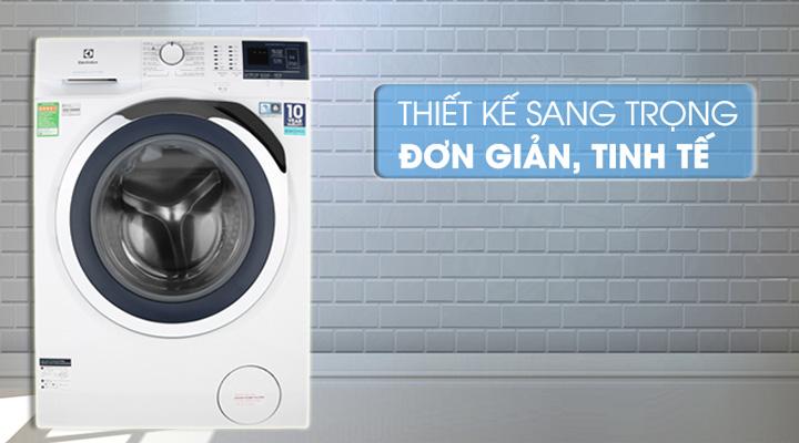 Máy giặt Electrolux EWF9024BDWA có thiết kế hiện đại, sang trọng và đẹp mắt