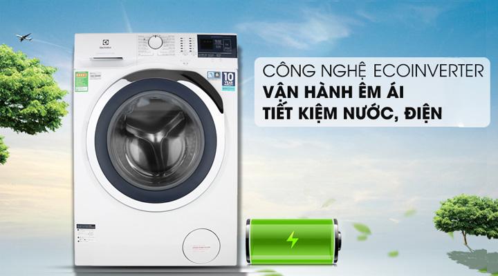 Máy giặt Electrolux EWF9024BDWB sử dụng động cơ EcoInverter