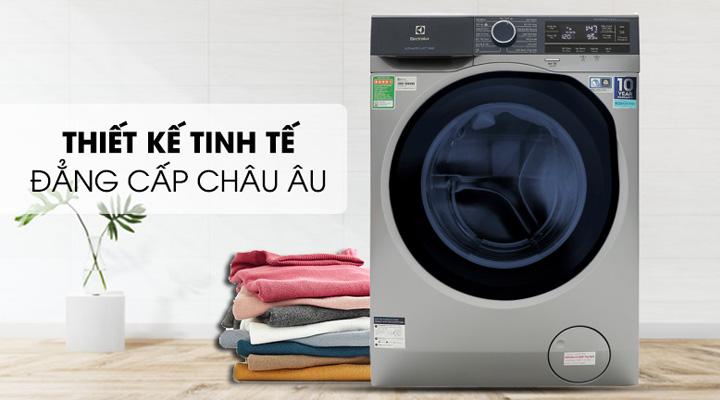 Máy giặt Electrolux Inverter EWF9523ADSA có thiết kế sang trọng, bắt mắt