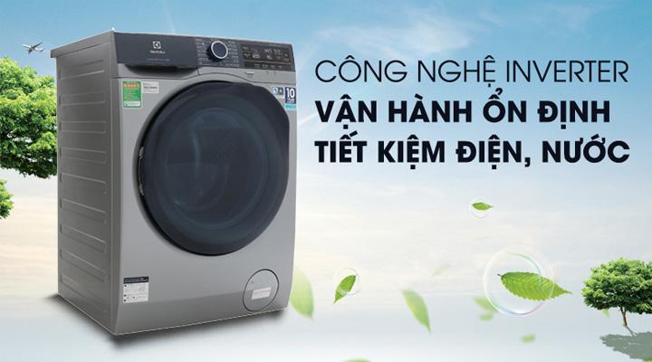 Máy giặt Electrolux EWF9523ADSA sử dụng động cơ EcoInverter giúp tiết kiệm điện năng