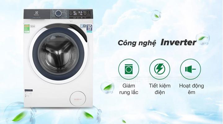 Máy giặt Electrolux EWF9523BDWA sử dụng động cơ EcoInverter cho máy vận hành êm ái và tiết kiệm điện năng