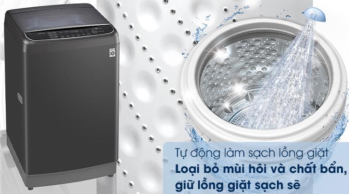 Máy giặt LG Inverter TH2111SSAB có tính năng tự vệ sinh lồng giặt