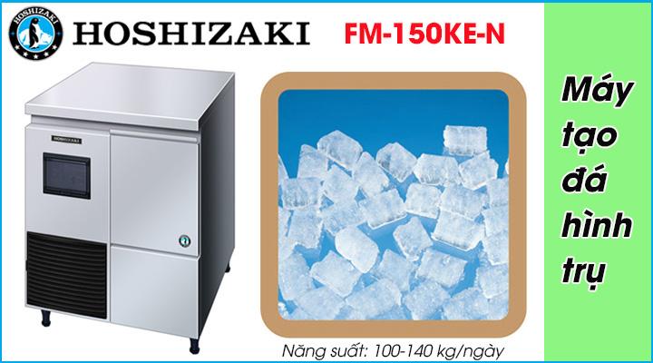 Máy làm đá viên Hoshizaki FM-150KE-N có công suất làm đá viên 100-140kg/ngày
