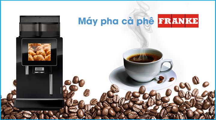 Máy pha cà phê Franke A600MSEC 1GH có thiết kế sang trọng và hiện đại