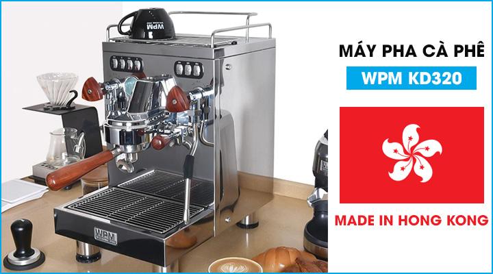 Mẫu máy pha cà phê WPM KD320 đến từ Hồng Kông