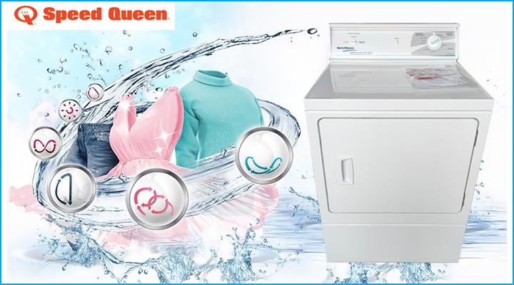 Máy sấy quần áo Speed Queen LES17AWF3022 có công nghệ sấy hiện đại